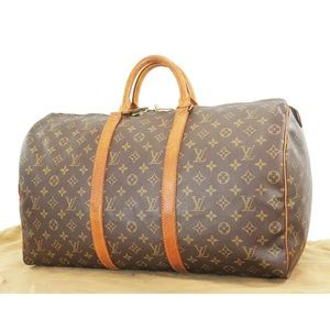 Authentic LOUIS VUITTON Keepall 50 Duffel Bag